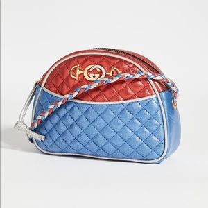 Gucci Trapuntata Horse-bit Crossbody Camera Bag